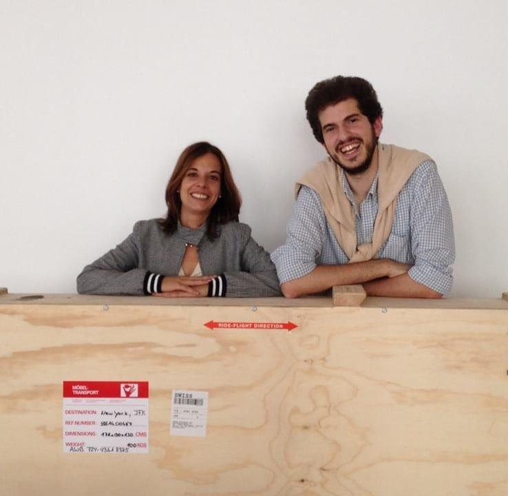Chiara Fabi and Francesco Guzzetti, 2014 Fall Fellows