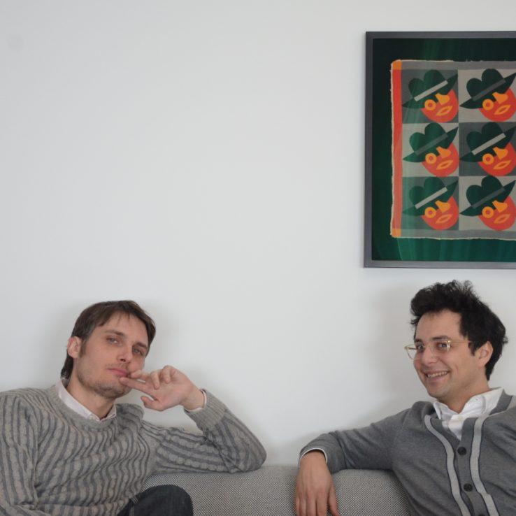 Fabio Belloni and Raffaele Bedarida,  2013-2014 Fellows