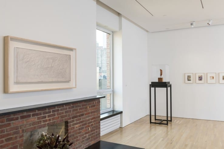 View of Medardo Rosso installation at CIMA; photo by Walter Smalling Jr.