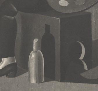 FIG. 6: Fortunato Depero, Io e mia moglie (detailed), 1919, private collection