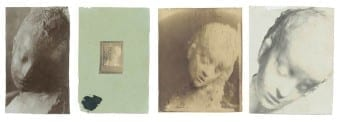 Medardo Rosso, Enfant malade. Private collection From left to right: c. 1910, c. 1924, c. 1901-2, c.1909