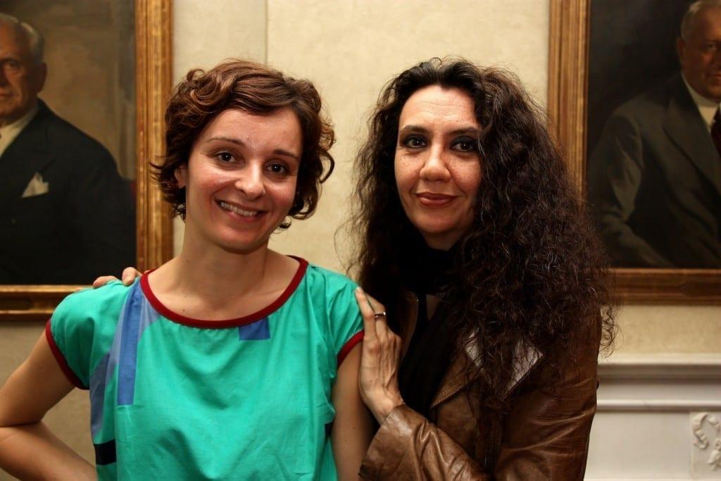 Ilaria Cicali and Ilaria Barzaghi