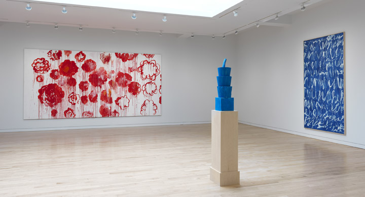 © Cy Twombly Foundation. Courtesy Gagosian Gallery. Photography by Robert McKeever.