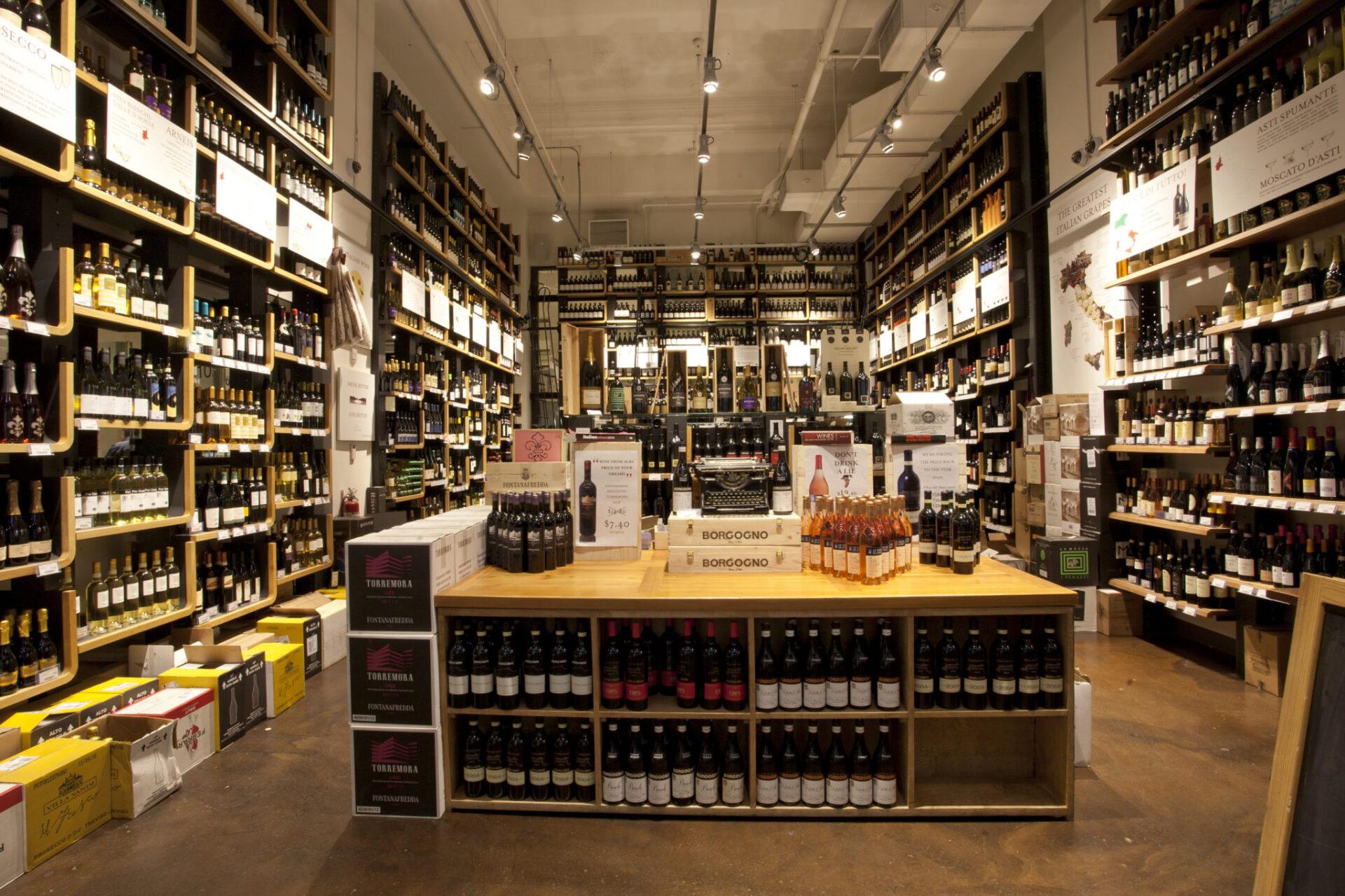 Eataly Wine Shop
