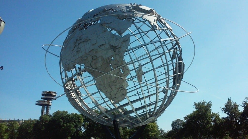 The Unisphere at the New York World's Fair 1964-65 (photo by Ilaria M. P. Barzaghi)