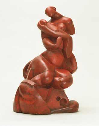A. Archipenko, Madonna of the Rocks, 1912, Painted plaster, The Museum of Modern Art, New York. Gift of Frances Archipenko Gray and Perls Galleries