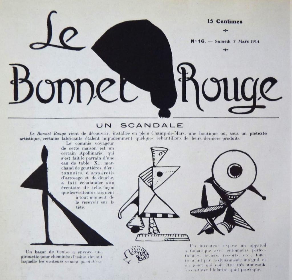 """Un scandale, in """"Le Bonnet rouge"""", n. 16, 7 March 1914"""