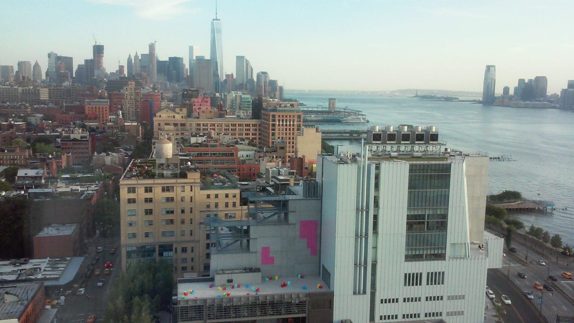 View with the Whitney Museum from the Standard Hotel. Photo: Ilaria M. P. Barzaghi.