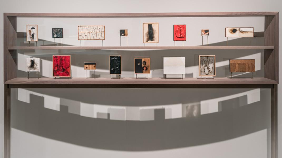 Alberto Burri, Miniature Paintings, David Heald © Solomon R. Guggenheim Foundation