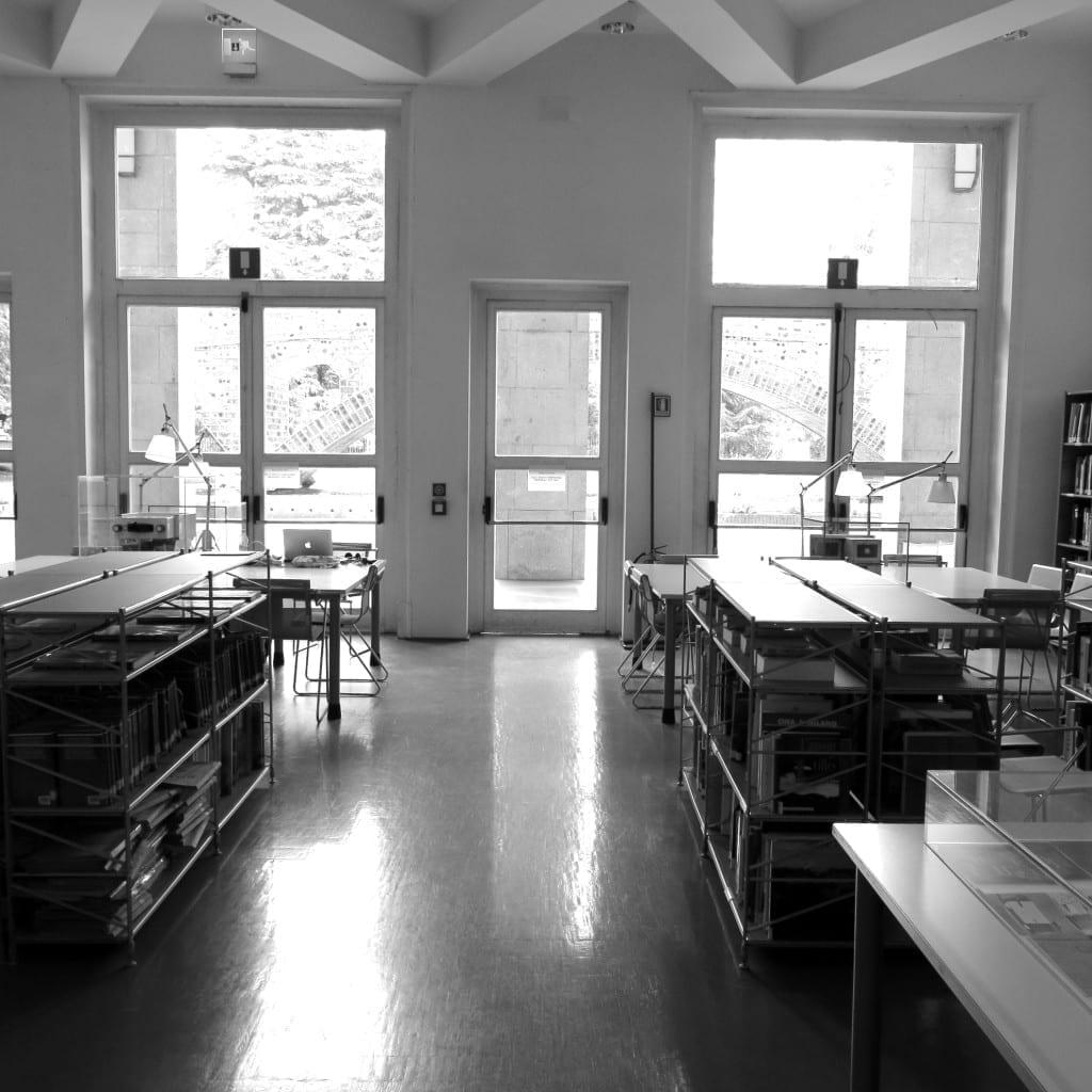 Biblioteca del Progetto, Photo by Teresa Kittler, 2015