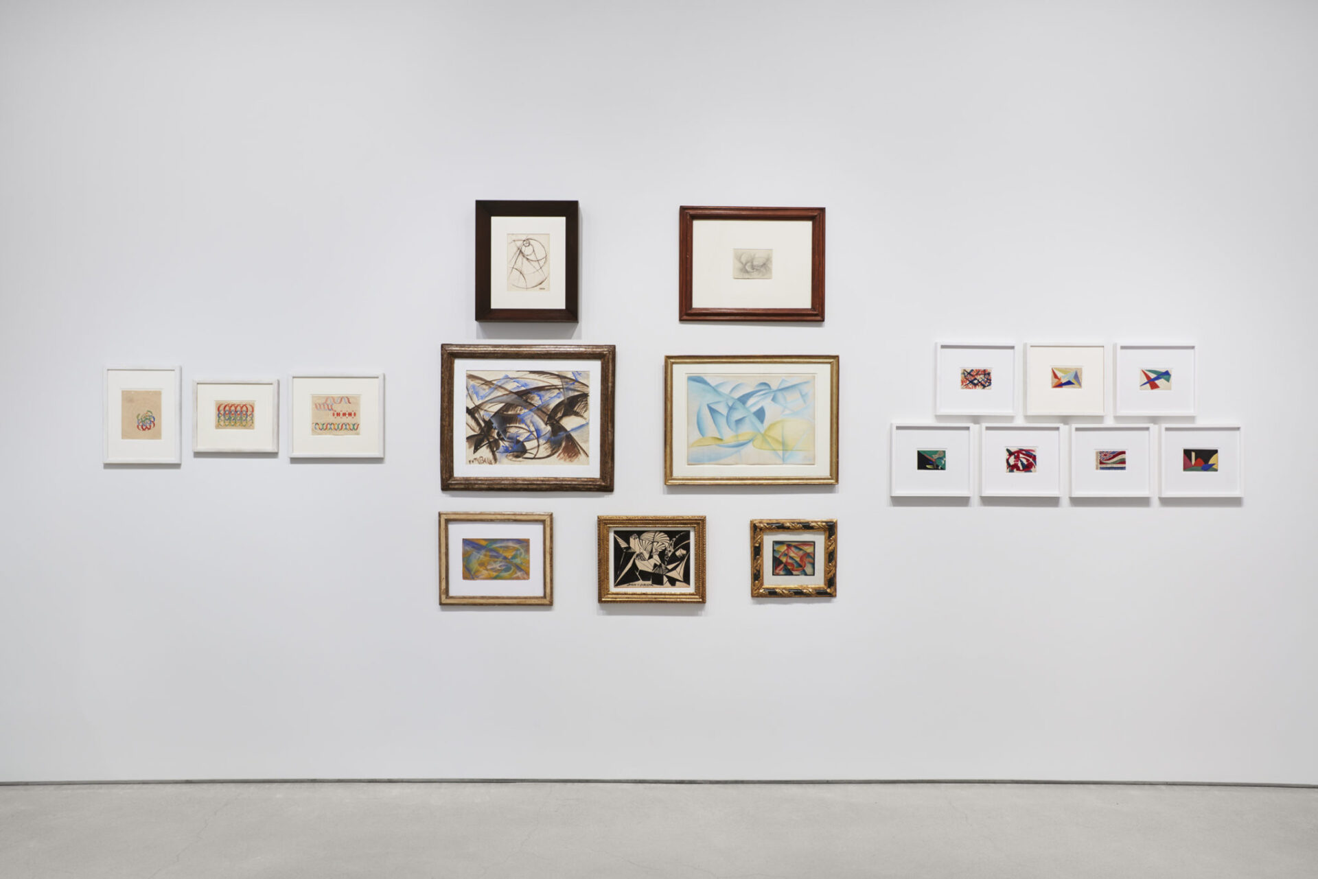 Giacomo Balla's works, Courtesy Sperone Westwater, New York