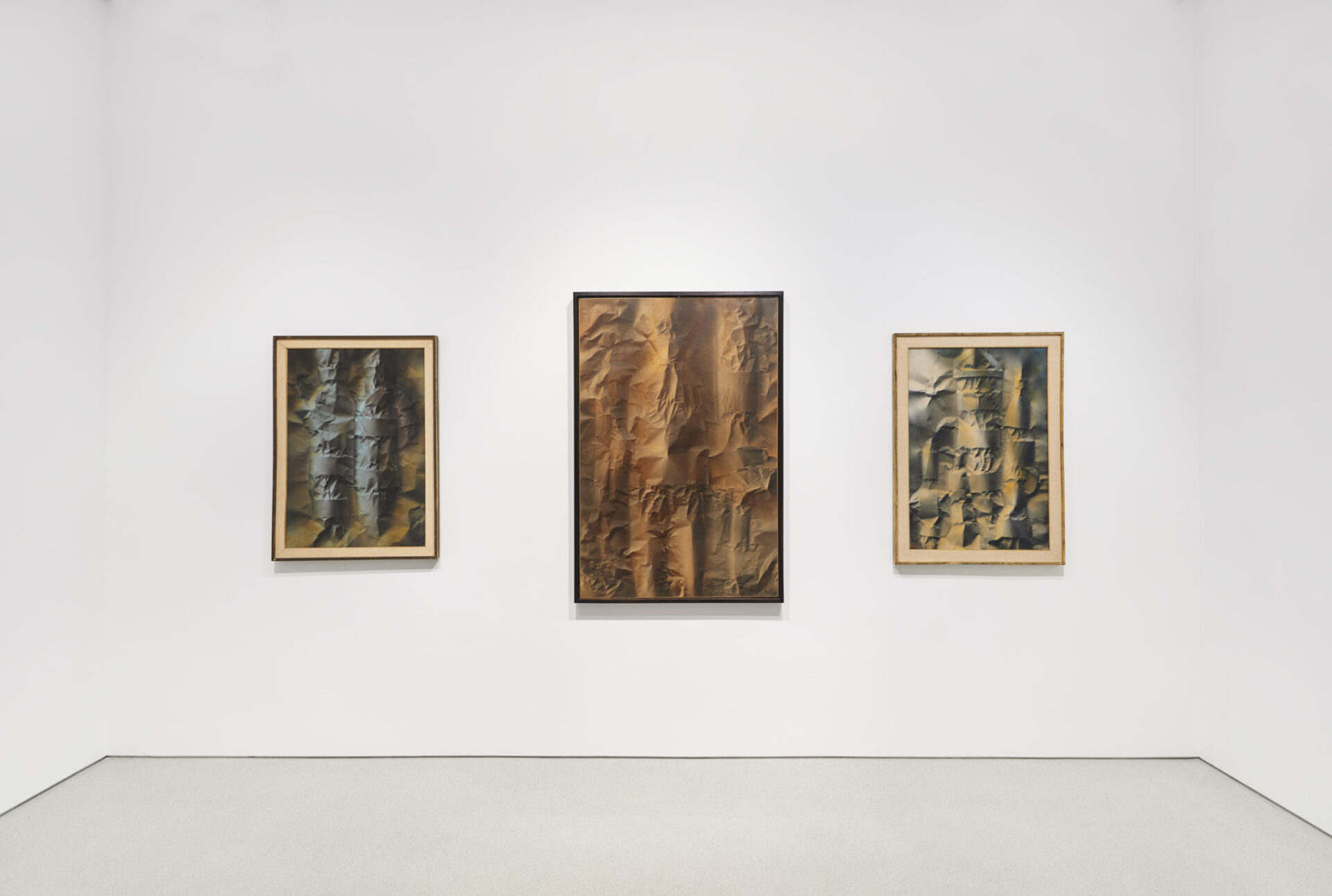 Corrado Cagli's paintings, Courtesy Sperone Westwater, New York