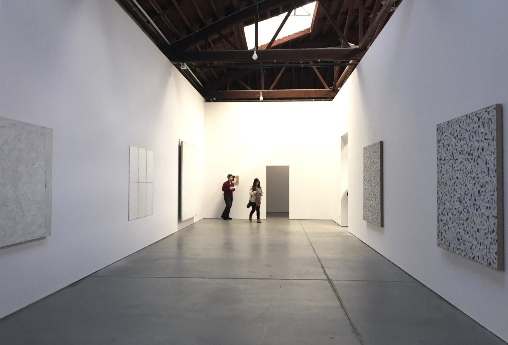 Robert Ryman. Gallery 1, installation view. Dia:Chelsea
