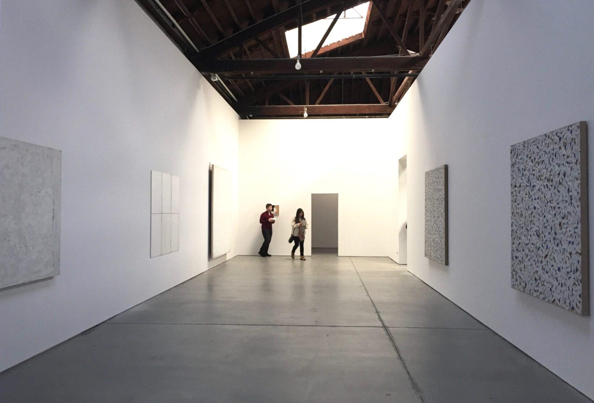 Robert Ryman. Gallery 1, installation view. Dia:Chelsea