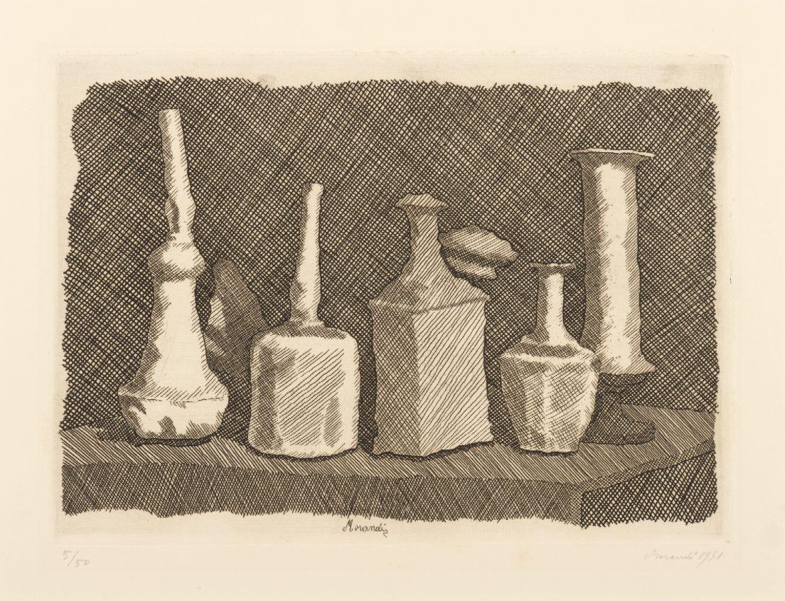 Giorgio Morandi, Natura morta a grandi segni (Still Life with Large Signs), 1931