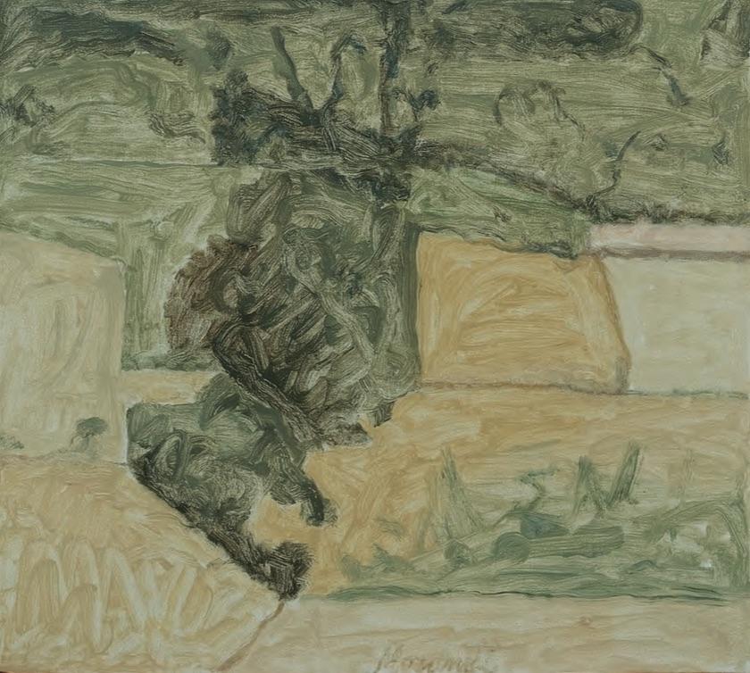 Paesaggio (Landscape), 1963 (Museo Morandi, Instituzione Bologna Musei, Italia).