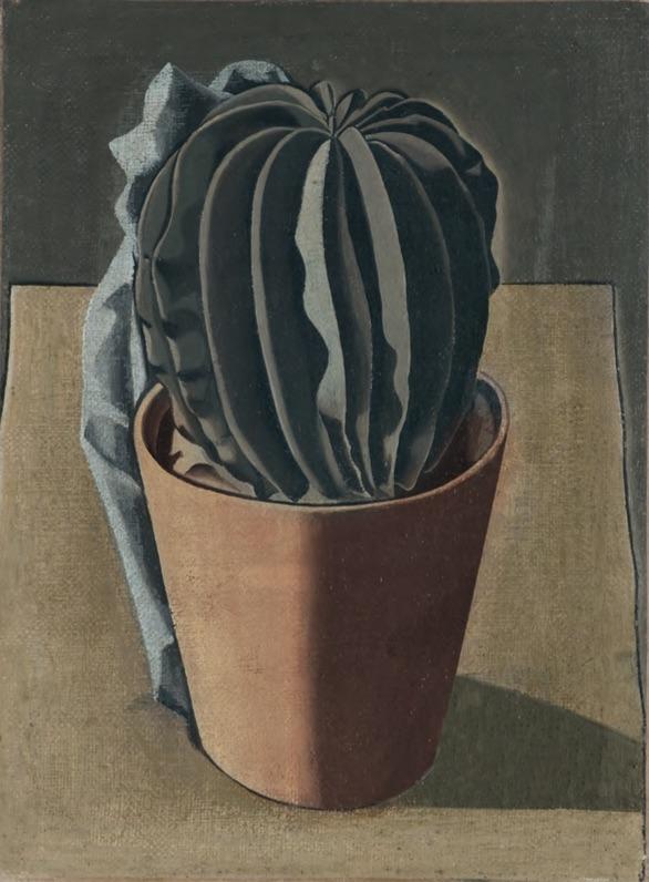Il cactus/Autoritratto (The Cactus/Self-Portrait), front, 1917/1919 (Private Collection).