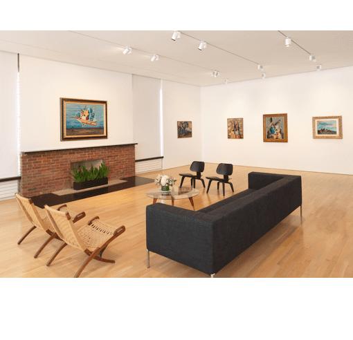 View of the Alberto Savinio exhibition at CIMA, 2017. Photo: Dario Lasagni