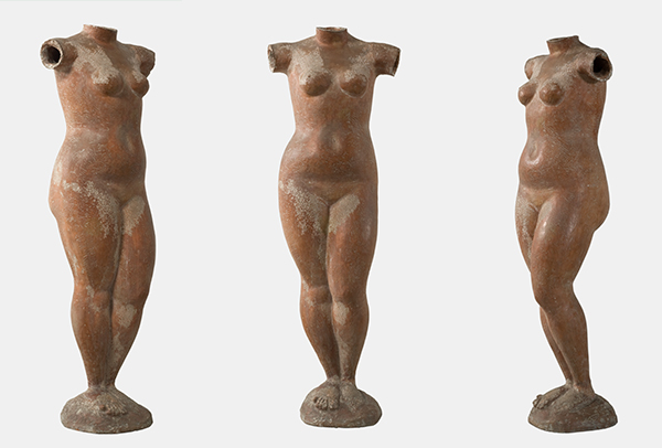 "Marino Marini, ""Venere,"" 1941. Terracotta, h. 113 cm. Private Collection. © 2018 Artists Rights Society (ARS), New York / SIAE, Rome"