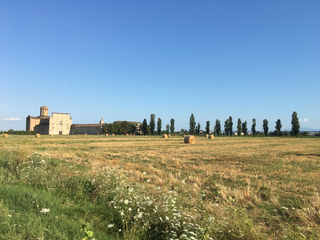 4 View of the Abbazia di Valserena from the countryside