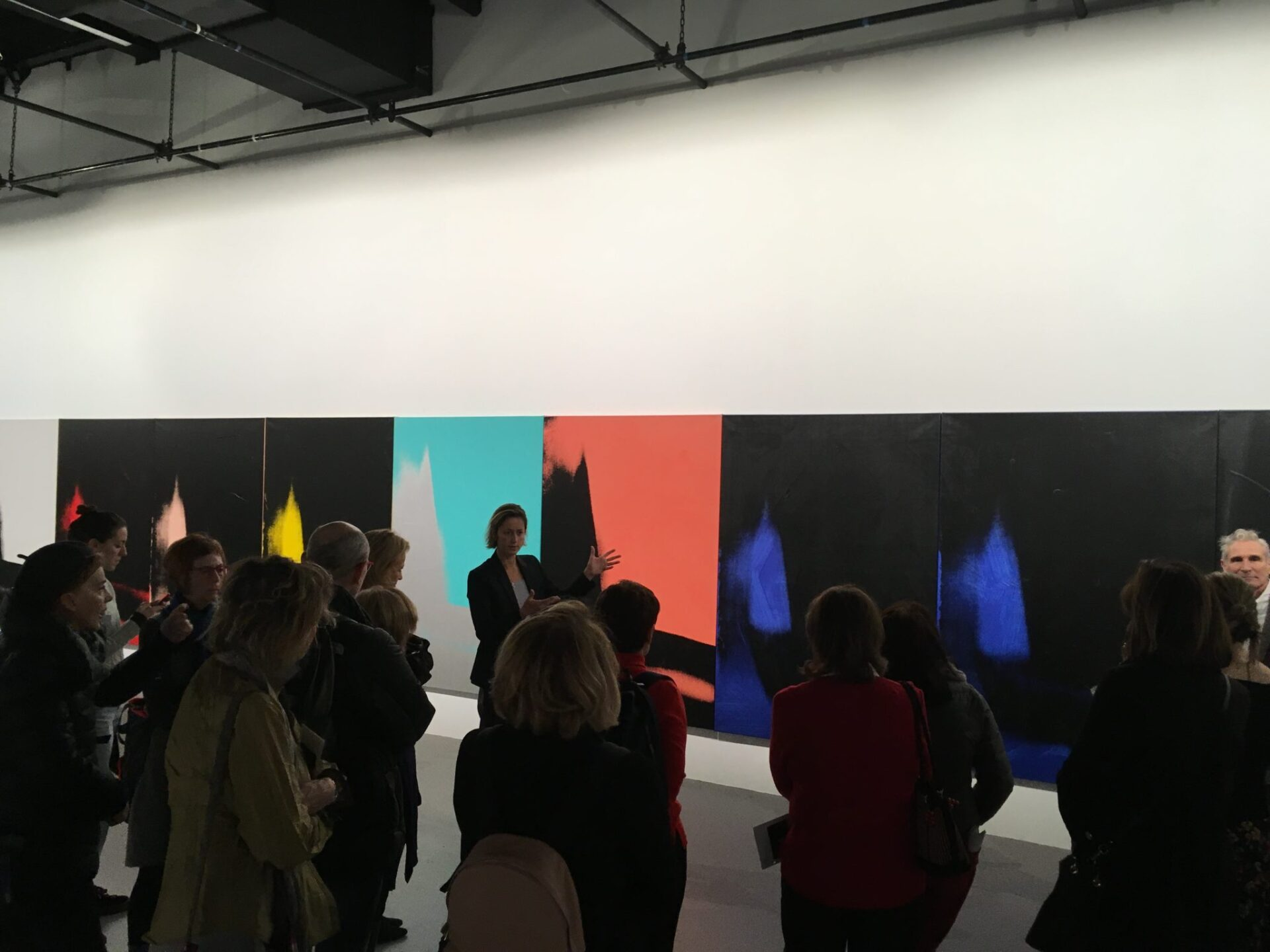 A tour of Andy Warhol's 'Shadows' with Neil Printz and Jessica