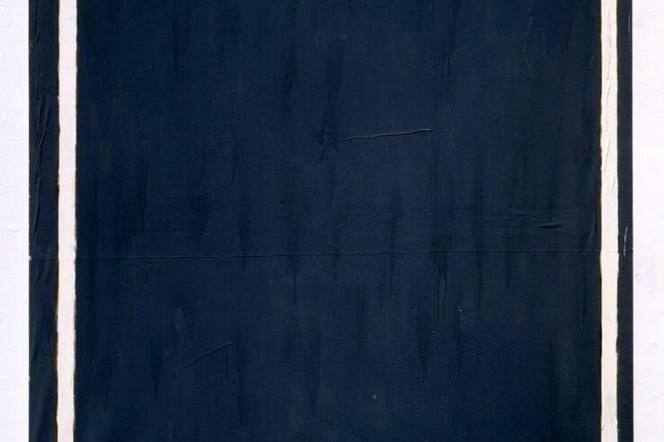 Schifano, Mario, 'A de Chirico,' 1962, Enamel on paper laid down on canvas 66 7/8 x 59 in (170 x 150 cm), The Sonnabend Collection and Antonio Homem. © 2020 Artists Rights Society (ARS), New York / SIAE, Rome © Archivio Mario Schifano.